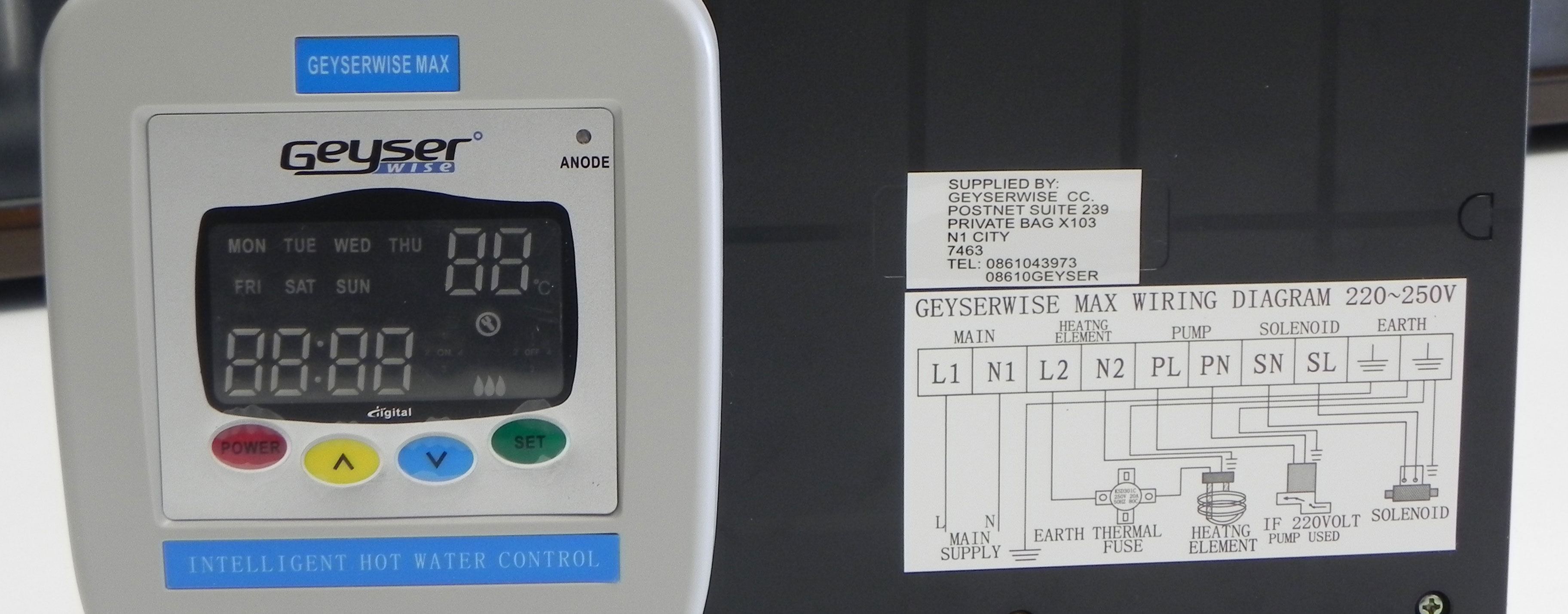 Load control unit relay or timer green building africa a relay timer or load control unit as it is sometimes called can be customised according to your own building needs by simple programming swarovskicordoba
