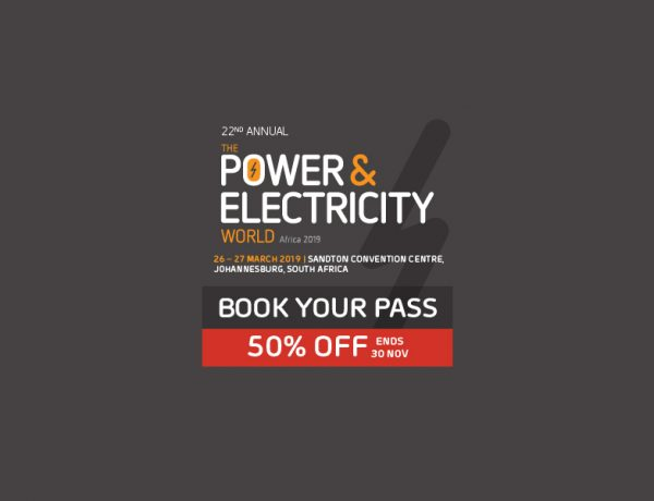 50% Early Bird Discount on Offer- 2019 Power & Electricity World Africa