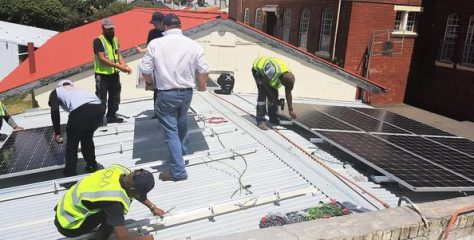 Cape Town High School Gets Solar Power
