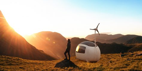 Minimalistic Living – The Self-Sustainable Micro Home