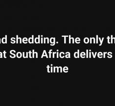 Stage 4 Load Shedding Ongoing in South Africa