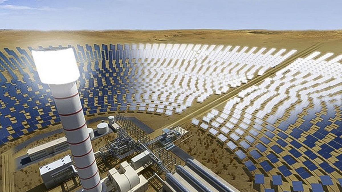 A 700 MW Solar Concentrated Plant to be built in Dubai