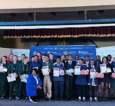 Students Shine at Eskom Funded Mathematics Competition