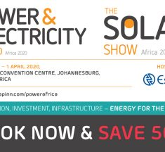 The Solar Show Africa 2020: Book Early and get 50% Discount!