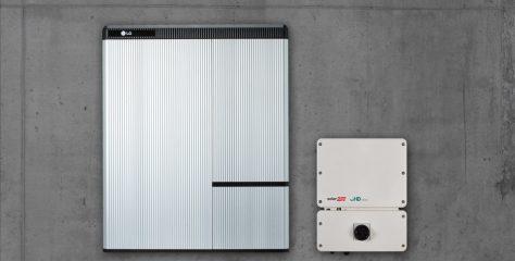 Residential Solar Storage Solution with LG Chem Battery, SolarEdge Inverter