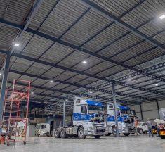 BEKA Schréder LED Highbay Lighting for Bloemfontein Factory